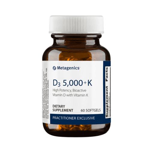 Metagenics Vitamin D3 5000 K