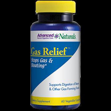 Advanced Naturals Gas Relief 60 vcaps A16750