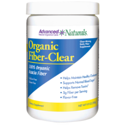 Advanced Naturals Organic Fiber Clear 9.9 oz A16936