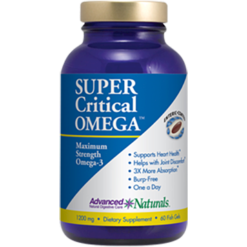 Advanced Naturals Super Critical Omega 60 gels A16739