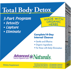 Advanced Naturals Total Body Detox 1 kit A16934