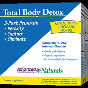 Advanced Naturals Total Body Detox 1 kit A16934