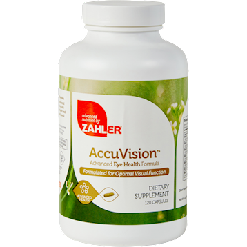 Advanced Nutrition by Zahler AccuVision 120 caps Z00516