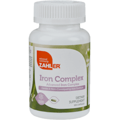 Advanced Nutrition by Zahler Iron Complex 100 caps Z80785