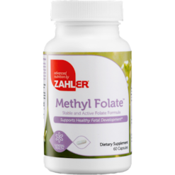 Advanced Nutrition by Zahler Methyl Folate 60 caps Z81928
