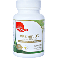 Advanced Nutrition by Zahler Vitamin D3 3000 IU 120 softgels Z00387