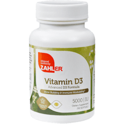 Advanced Nutrition by Zahler Vitamin D3 5000 IU 250 softgels Z00431