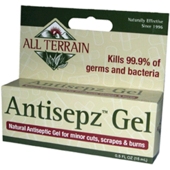 All Terrain Antisepz Gel .5 oz AT5011