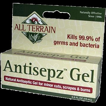 All Terrain Antisepz Gel .5 oz AT5011