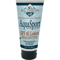 All Terrain AquaSport SPF45 Sunscreen Lotion 3 oz AT2340