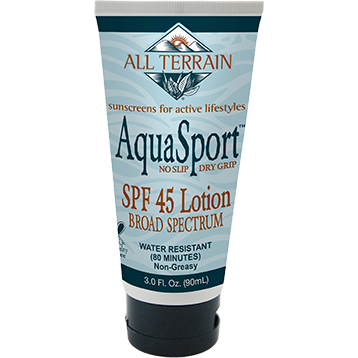 All Terrain AquaSport SPF45 Sunscreen Lotion 3 oz AT2340