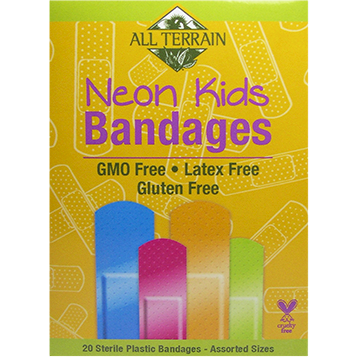 All Terrain Kids Neon Bandages 20 pc AT5002