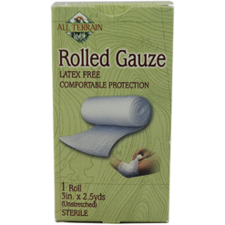 All Terrain Rolled Gauze 3quot 2.5 yds AT5008