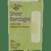 All Terrain Sheer Bandages 3 4quot x 3quot 40 pc AT5004
