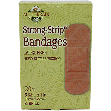 All Terrain Strong Strip Bandages 1quot x 3.25quot 20 pc AT5005