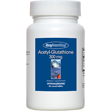 Allergy Research Group Acetyl Glutathione 300 mg 60 tabs A7060