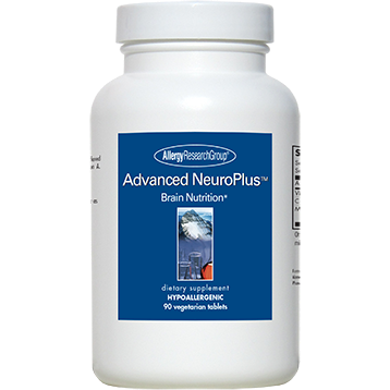 Allergy Research Group Advanced NeuroPlus 90 vegtabs A70102