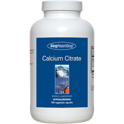 Allergy Research Group Calcium Citrate 150 mg 180 caps CALC2