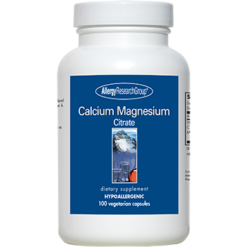 Allergy Research Group Calcium Magnesium Citrate 100 caps CMCI2