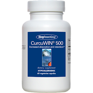 Allergy Research Group CurcuWIN 500 60 vegcaps A72908