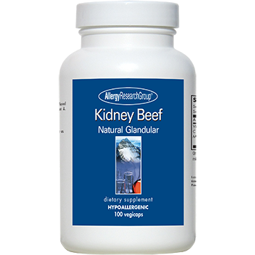 Allergy Research Group Kidney Beef 100 vcaps A72800