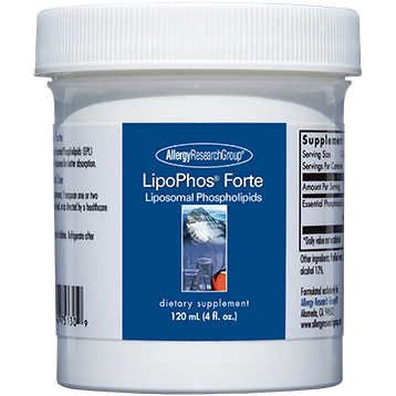 Allergy Research Group LipoPhos Forte 4 oz LIP42