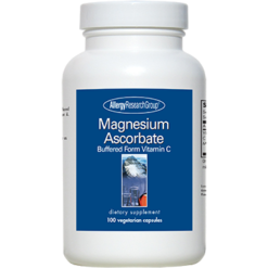 Allergy Research Group Magnesium Ascorbate 100 vcaps ESTE5