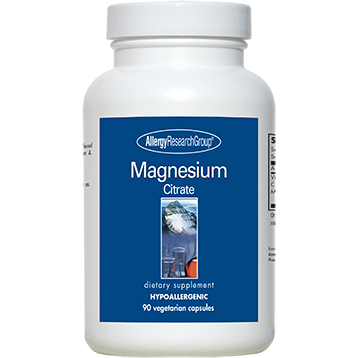 Allergy Research Group Magnesium Citrate 170 mg 90 caps MAGN2