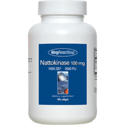 Allergy Research Group Nattokinase 180 gels NATT9