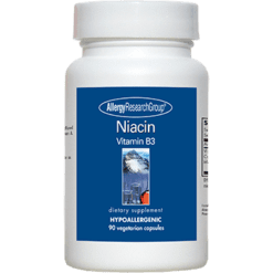 Allergy Research Group Niacin Vitamin B3 250 mg 90 caps NIACI