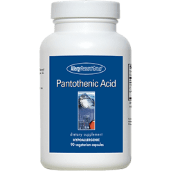 Allergy Research Group Pantothenic Acid 500 mg 90 caps PANTO