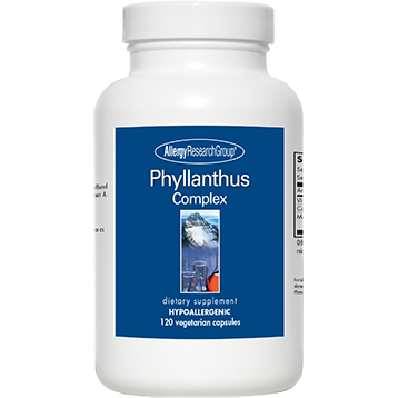 Allergy Research Group Phyllanthus Complex 120 caps PHYL3
