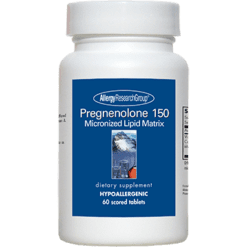 Allergy Research Group Pregnenolone 150 mg 60 tabs PREG12