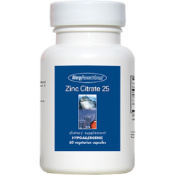 Allergy Research Group Zinc Citrate 25 mg 60 caps ZINCC