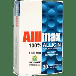 Allimax International Limited Allimax 180 mg 30 vegcaps A00000