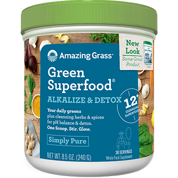 Amazing Grass Alkalize amp Detox Green Superfood 30 srv A03501