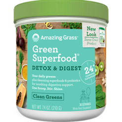 Amazing Grass Detox amp Digest Green SF 30 servings A04737