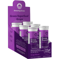 Amazing Grass Effervescent Energy Grape 60 tablets A06526