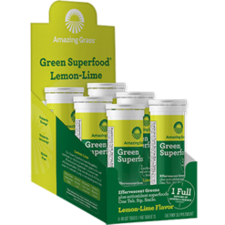 Amazing Grass Effervescent Lemon Lime 60 tablets A05482