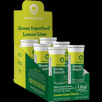 Amazing Grass Effervescent Lemon Lime 60 tablets A05482