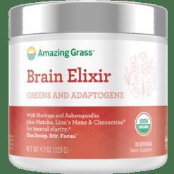 Amazing Grass Elixir Brain Blend 20 servings A05703