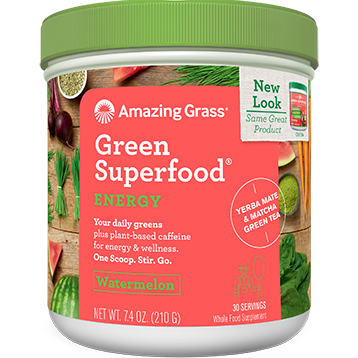 Amazing Grass Energy Watermelon Green SuperFood 7.4 oz A01668