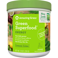 Amazing Grass GSF Lemon Lime Energy 30 servings EGSF
