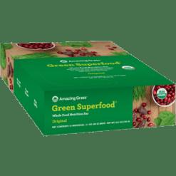 Amazing Grass Green SuperFood Original Bar 12 Bars A50081