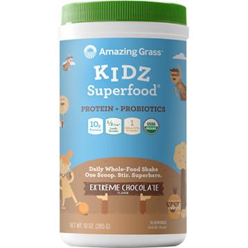 Amazing Grass Kidz Protein Probiotics Choc 15 servings A06878