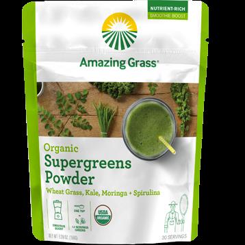 Amazing Grass Organic SuperGreens 30 servings A06489