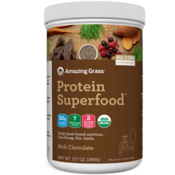 Amazing Grass Protein SuperFood Chocolate 10 srvg A56014