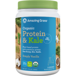 Amazing Grass Protein amp Kale Vanilla 15 servings A06397