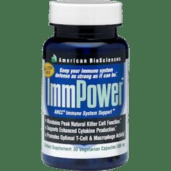 American BioSciences ImmPower AHCC 30 vegcaps IMMP4