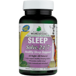 American BioSciences Sleep Solve 24 7 30 tabs SLE30